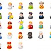 27種類のキャラクター!アバター・アイコン・クリップアート素材