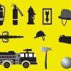 消防・火事に関連した無料ベクタークリップアート素材