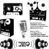 レアなアナログ素材。オープンリールやカセットテープの無料ベクターシルエット素材