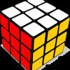 6面揃ったルービックキューブ。フリーベクタークリップアート素材