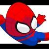 超かわいいスパイダーマンの無料ベクターイラスト素材