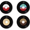 なつかしいレコード盤(SP)の無料ベクタークリップアート素材