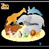 シンプルでクールな動物の無料ベクタークリップアート素材
