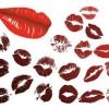 キスマーク(唇)の無料ベクターイラスト素材