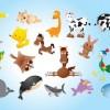 ゆるゆるでかわいい動物のイラスト素材集(干支・年賀状)
