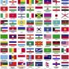世界287ヵ国の国旗!無料ベクターイラスト素材