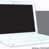 iBookタイプのノートパソコン。無料ベクタークリップアート素材
