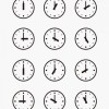 時刻の必要な時に使いたいアナログ時計の無料ベクタークリップアート素材