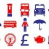 15個のロンドンに関連のあるベクタークリップアート素材