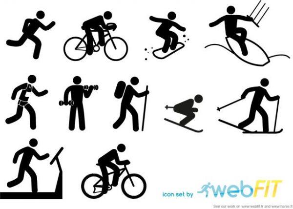 10webfit_sport_icon-600x428 無料・10種類のスポーツ競技シンプルベクターアイコン