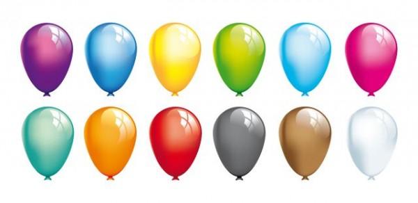 12-Balloons-Vector-600x292 カラフルな12色の風船。無料ベクターイラスト素材