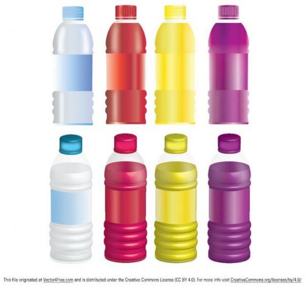 8_JUICES_BOTTLES_MOCK_UP_LARGE-600x563 ペットボトル飲料の高品位なフリーベクターイラスト素材(8種類)