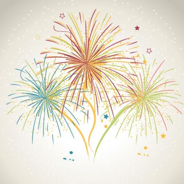 Colorful-Fireworks-Design-Vector-Art-600x600 無料!おしゃれで綺麗なHANABIのベクターイラスト素材