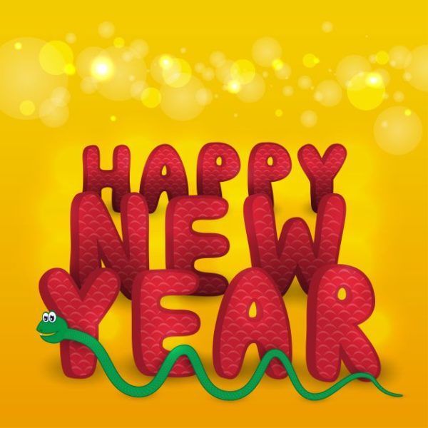 Creative-Snake-2013-design-elements-vector-01-600x600 2013 HAPPY NEW YEAR ヘビ(巳)のベクターイラスト素材