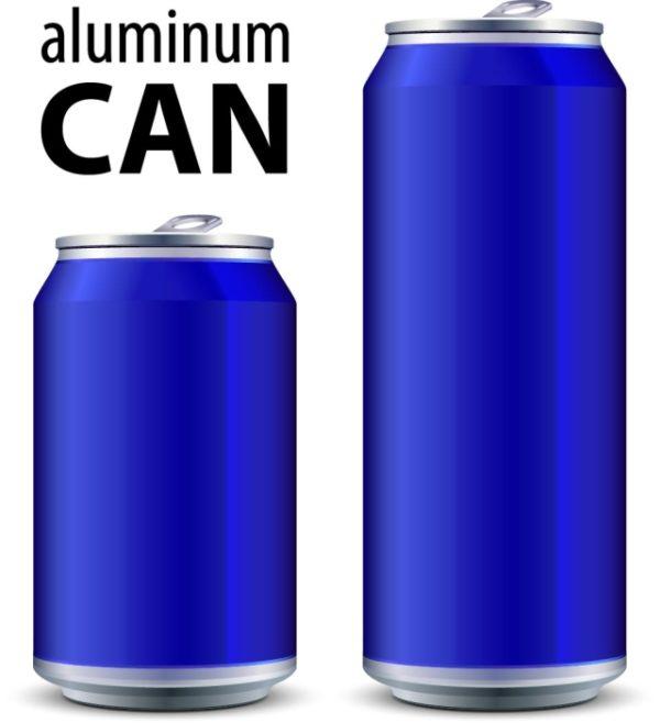Different-Small-bottle-object-vector-04-600x658 高品位なアルミ缶のベクタークリップアート素材