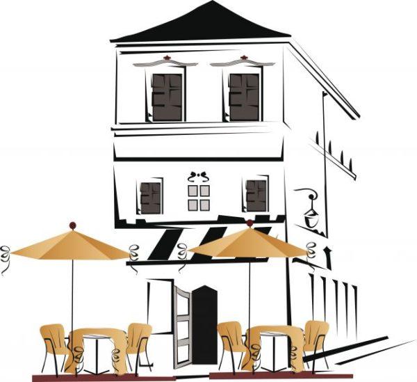 Elements-of-Different-cafe-deisgn-vector-02-600x549 パリのオープンカフェをイメージしたおしゃれなイラスト素材。