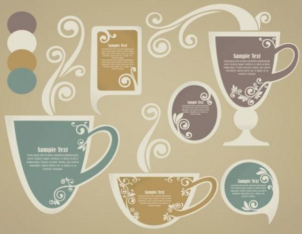 FLORAL-COFFEPS-600x465 カフェのメニュー作りに役立ちような無料のCOFFEEベクターイラスト素材