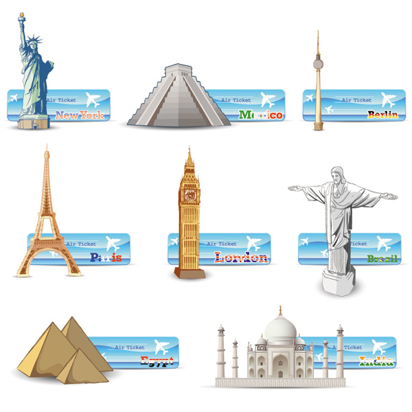 Free City Buildings Clipart