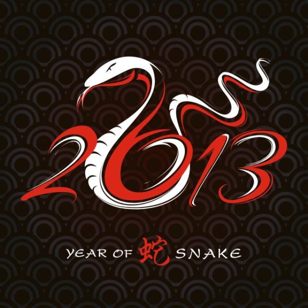 Free-2013-Year-of-the-Snake-Design-vector-01-600x600 クール&アート!2013年・年賀状ヘビ(巳)の無料ベクターイラスト素材