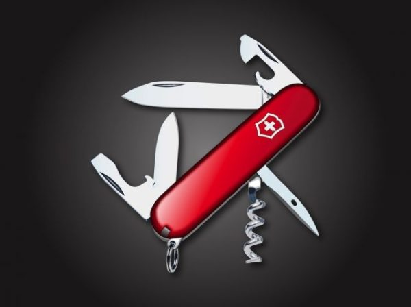 FreeVector-Pocket-Knife-600x448 ヴィクトリノックスタイプ。ナイフの高品位無料ベクターイラスト素材