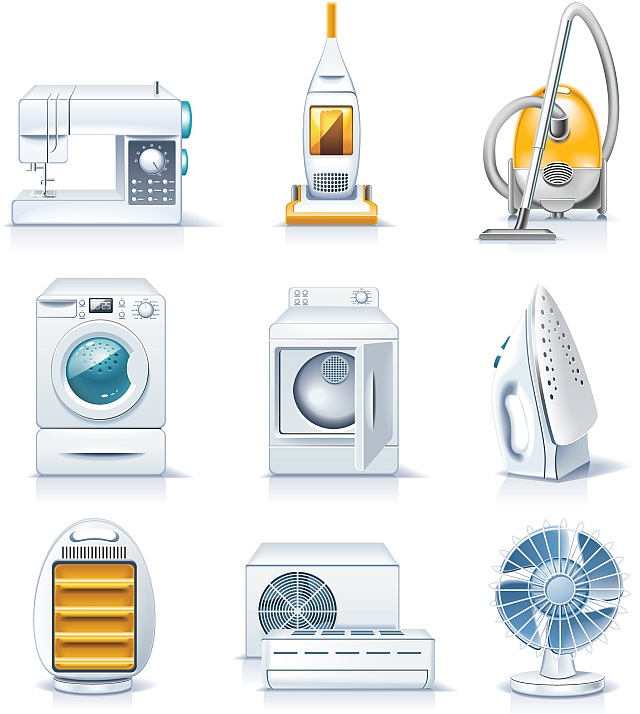 All free for Household appliances design