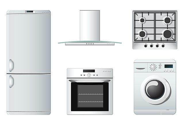 Small Kitchen Appliances Clipart