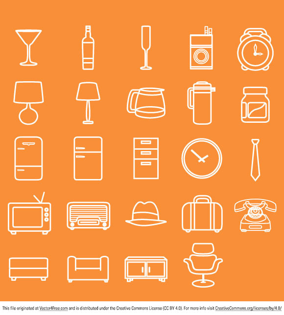 All free clipart for Minimal art vector