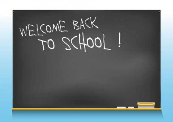 School-blackboard-Vector-material-01-600x424 ハイクオリティーなブラックボード(黒板)の無料ベクタークリップアート素材