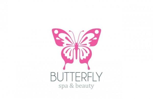 Simple-butterfly-logo-design-vector-600x388 シンプルな蝶のベクターイラスト素材。ロゴに最適!
