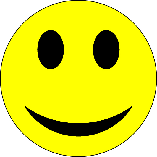 Smiley_Face_clip_art ニコちゃんマーク風?の無料ベクターイラスト素材。