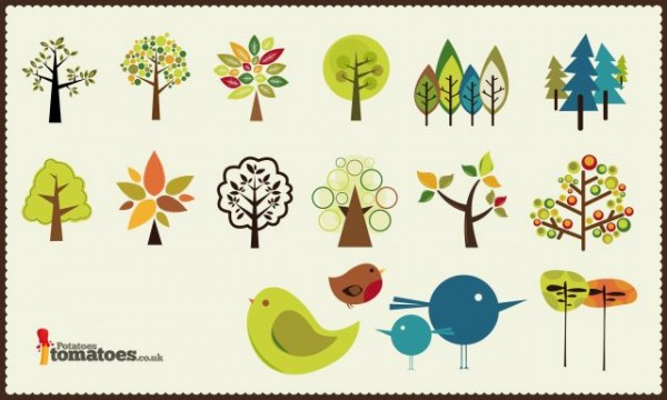 To-tree-or-not-to-tree-600x360 小鳥と木のかわいいイラスト素材(AI)