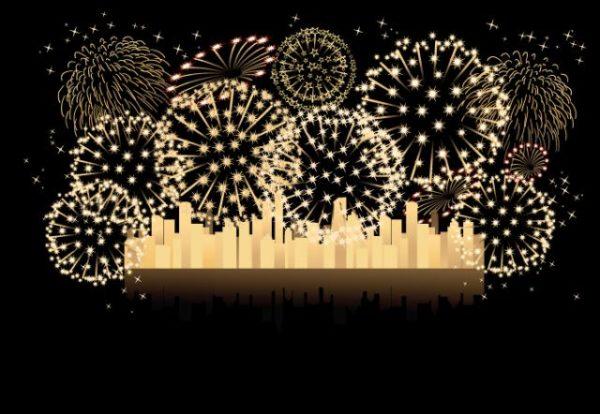 Vector-brilliant-fireworks-3-600x414 豪華!綺麗な花火の無料ベクターイラスト素材5個