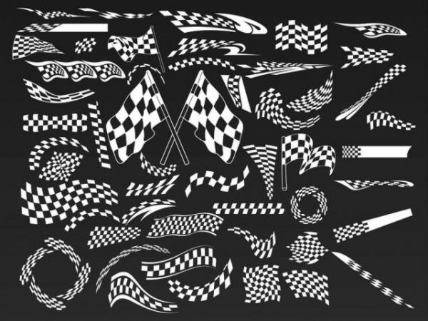 VectorFree Car Race Vectors