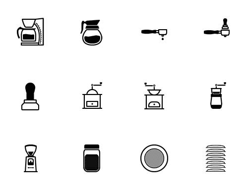 barista-preview_02 バリスタやコーヒー愛好家必見のアイコンセット
