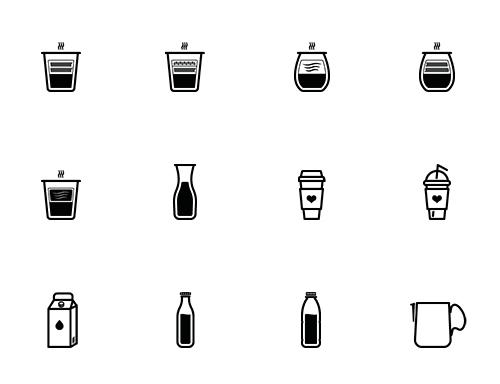 barista-preview_04 バリスタやコーヒー愛好家必見のアイコンセット