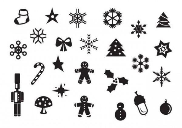 christmas_set_02-600x422 クリスマスの飾りをモチーフにした、かわいいアイコン集。無料ベクターシルエット素材