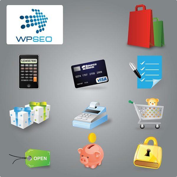 eCommerce-Icon-Set-Preview-600x599 ショッピングに関連のあるアイテム集。無料のベクターイラスト素材