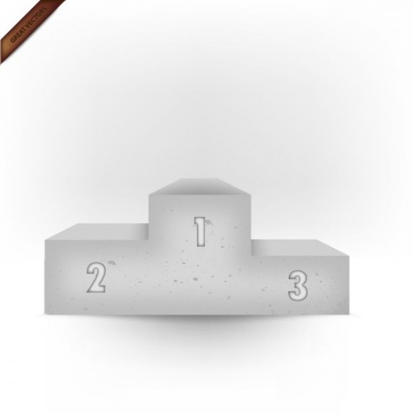 eps-3d-vector-stone-podium