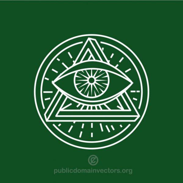 eye-symbol-2-publicdomainvectors.org_-600x600 不思議なロゴデザイン!フリーメイソン(秘密結社)
