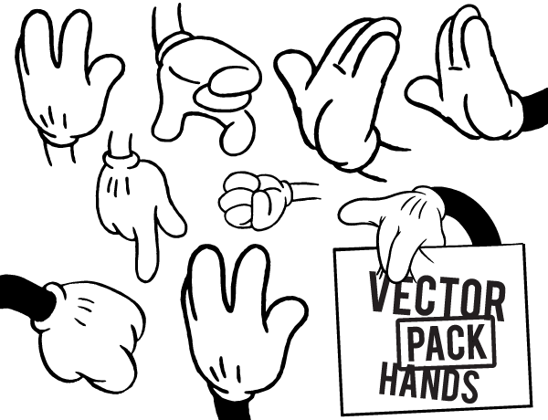 hands-free-vector-pack