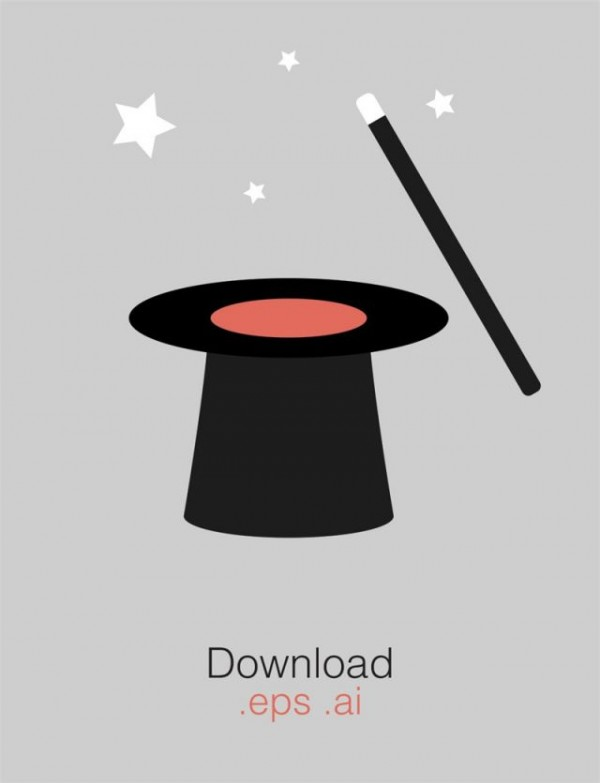 magic-hat-free-vector