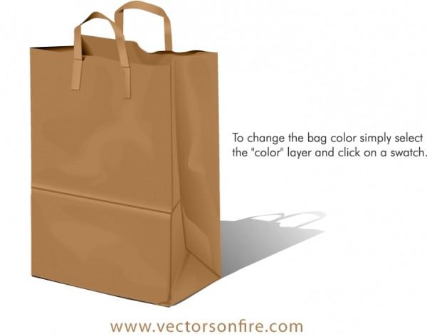 mihai.bag_.preview-600x473 無料ベクタークリップアート。お買い物用紙袋のイラスト素材