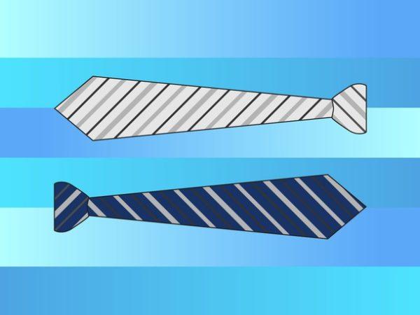 neck-ties-600x450 ストライプ柄のネクタイ。無料ベクターイラスト素材