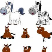 Cartoon-horse-vector