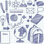 Hand-Drawn-School-Design-Elements-Vector