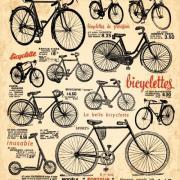 Free Vector Retro bike poster