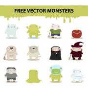 free_vector_monsters_by_harridan-d4psnaf