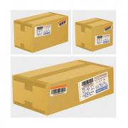 Shipping Cardboard Vector Boxes