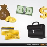 Finance Icons -- Vector Open Stock
