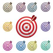 Vector-Arrow-Bullseye-Target-CS-by-DragonArt